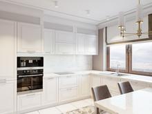 Квартира «Романтическое спокойствие», кухня . Фото № 29236, автор Лаврова Галина