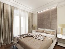 Квартира «Романтическое спокойствие», спальня . Фото № 29238, автор Лаврова Галина