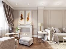 Квартира «Романтическое спокойствие», гостиная . Фото № 29235, автор Лаврова Галина