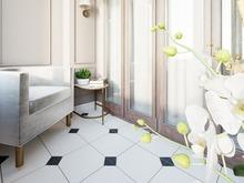 Квартира «Романтическое спокойствие», веранда лоджия . Фото № 29239, автор Лаврова Галина