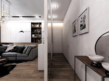 Квартира «Однушка 37м2», прихожая . Фото № 29256, автор Громова Наталья