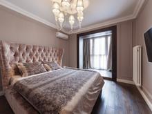 Квартира «Квартира в подмосковье», спальня . Фото № 29260, автор Кисель Марина