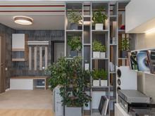 Квартира «Квартира с прекрасным видом», прихожая . Фото № 29267, автор Варшавский Алексей
