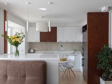 Квартира «Квартира с прекрасным видом», кухня . Фото № 29262, автор Варшавский Алексей