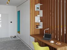 Квартира «Уютная квартира-студия для молодой пары.», прихожая . Фото № 29310, автор Сопова Екатерина