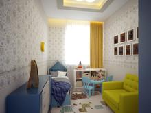 Квартира «Трёхкомнатная квартира на Московском пр», детская . Фото № 29314, автор Корпан Ксения