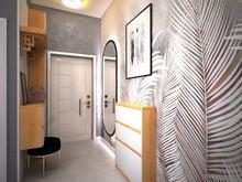 Квартира «Трёхкомнатная квартира на Московском пр», прихожая . Фото № 29315, автор Корпан Ксения