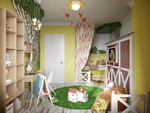 Квартира «Милая деревня», детская . Фото № 29339, автор Cердюк Виктория