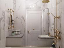 Квартира «Indigo», ванная . Фото № 29353, автор Wide Design Group