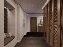 Квартира ««Elegance»», прихожая . Фото № 29355, автор Wide Design Group