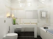 Квартира ««Elegance»», ванная . Фото № 29356, автор Wide Design Group