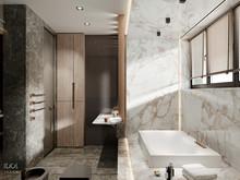Квартира «Muskat apartment», ванная . Фото № 29361, автор Интерьерная студия IDOL DESIGN