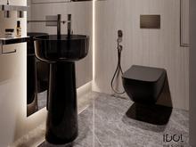 Квартира «Muskat apartment», санузел . Фото № 29364, автор Интерьерная студия IDOL DESIGN