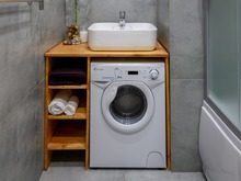 Квартира «max минимально», ванная . Фото № 29383, автор Новопольцева Анна
