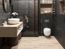 Квартира «Студия 39м.кв.», ванная . Фото № 29405, автор Новопольцева Анна