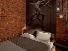 Квартира «Студия 39м.кв.», спальня . Фото № 29406, автор Новопольцева Анна