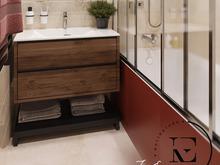 Квартира «Гармония роскоши и природы в ЖК Татьянин Парк», ванная . Фото № 29410, автор Ивлиева Евгения