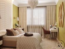 Квартира «Гармония роскоши и природы в ЖК Татьянин Парк», спальня . Фото № 29413, автор Ивлиева Евгения
