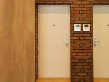Квартира «Маленькая квартира в легком лофте», прихожая . Фото № 29417, автор GENESIS Студия дизайна интерьера