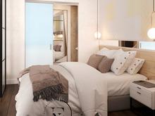 Квартира «Уютный Скандинавский стиль в ЖК Ясный», спальня . Фото № 29424, автор Ивлиева Евгения