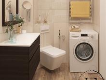 Квартира «Уютный Скандинавский стиль в ЖК Ясный», ванная . Фото № 29419, автор Ивлиева Евгения