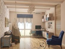 Квартира «Восток и Средиземноморье в ЖК Мишино», детская . Фото № 29428, автор Ивлиева Евгения