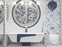 Квартира «Басманная_LIFE», ванная . Фото № 29441, автор Валкина Анна