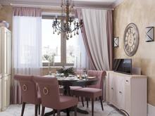 Квартира «Ар-деко на Славянском бульваре», кухня . Фото № 29451, автор Ивлиева Евгения