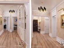 Квартира «Ар-деко на Славянском бульваре», холл . Фото № 29454, автор Ивлиева Евгения