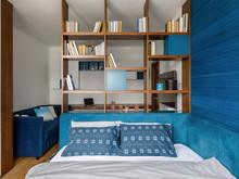 Квартира «Квартира на Фрунзенской набережной», спальня . Фото № 29458, автор Кисель Марина