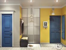 Квартира «Яркий Скандинавский дизайн в Лыткарино», прихожая . Фото № 29467, автор Ивлиева Евгения