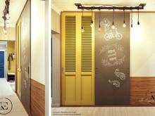 Квартира «Яркий Скандинавский дизайн в Лыткарино», холл . Фото № 29470, автор Ивлиева Евгения