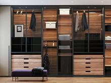 Квартира «Дом в Химках», гардеробная . Фото № 29493, автор GEOMETRIUM