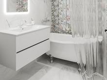 Квартира «Однокомнатная квартира в ЖК NEWПИТЕР », ванная . Фото № 29511, автор Корпан Ксения