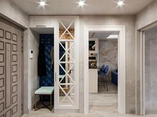 Квартира «Однокомнатная квартира в ЖК NEWПИТЕР », прихожая . Фото № 29510, автор Корпан Ксения