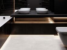 Квартира «Сердце Столицы», ванная . Фото № 29517, автор GEOMETRIUM