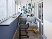 Квартира «Цвет настроения», веранда лоджия . Фото № 29530, автор Дятлова Тетяна