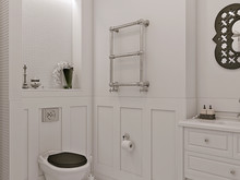 Квартира «ЖК «Лесная сказка»», ванная . Фото № 29538, автор Wide Design Group