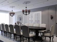 Квартира «ЖК «Лесная сказка»», столовая . Фото № 29537, автор Wide Design Group
