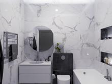 Квартира «ЖК «River House»», ванная . Фото № 29550, автор Wide Design Group