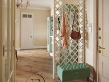 Квартира «Квартира в стиле Неопрованс в Зеленограде», прихожая . Фото № 29564, автор Ивлиева Евгения