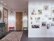 Квартира «СКВОЗЬ РЫЖИЕ ОЧКИ», прихожая . Фото № 29576, автор Алёны Чекалиной Дизайн студия