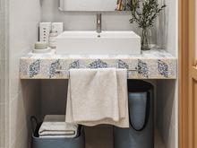Квартира «СКВОЗЬ РЫЖИЕ ОЧКИ», ванная . Фото № 29578, автор Алёны Чекалиной Дизайн студия