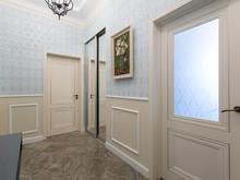 Квартира «Современная классика», коридор . Фото № 29631, автор Сорокина Любовь