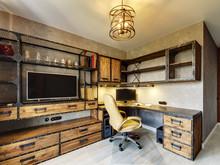 Квартира «Квартира в жк Элегант», кабинет . Фото № 29633, автор Пехова Светлана