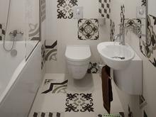 Квартира «Современный интерьер», ванная . Фото № 29639, автор Сорокина Любовь