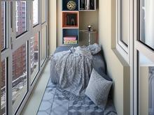 Квартира «Современный интерьер», веранда лоджия . Фото № 29640, автор Сорокина Любовь