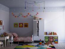 Квартира «Современный интерьер», детская . Фото № 29641, автор Сорокина Любовь
