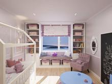 Квартира «Семейная идиллия», детская . Фото № 29660, автор Хачатурова Галина