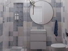 Квартира «Просторная квартира в ЖК Платинум», ванная . Фото № 29678, автор Смышляева Ирина